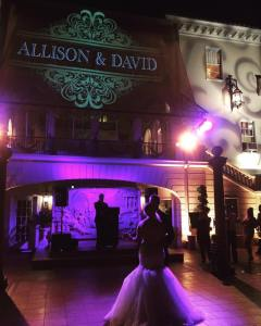 First dance at Grand Island Mansion