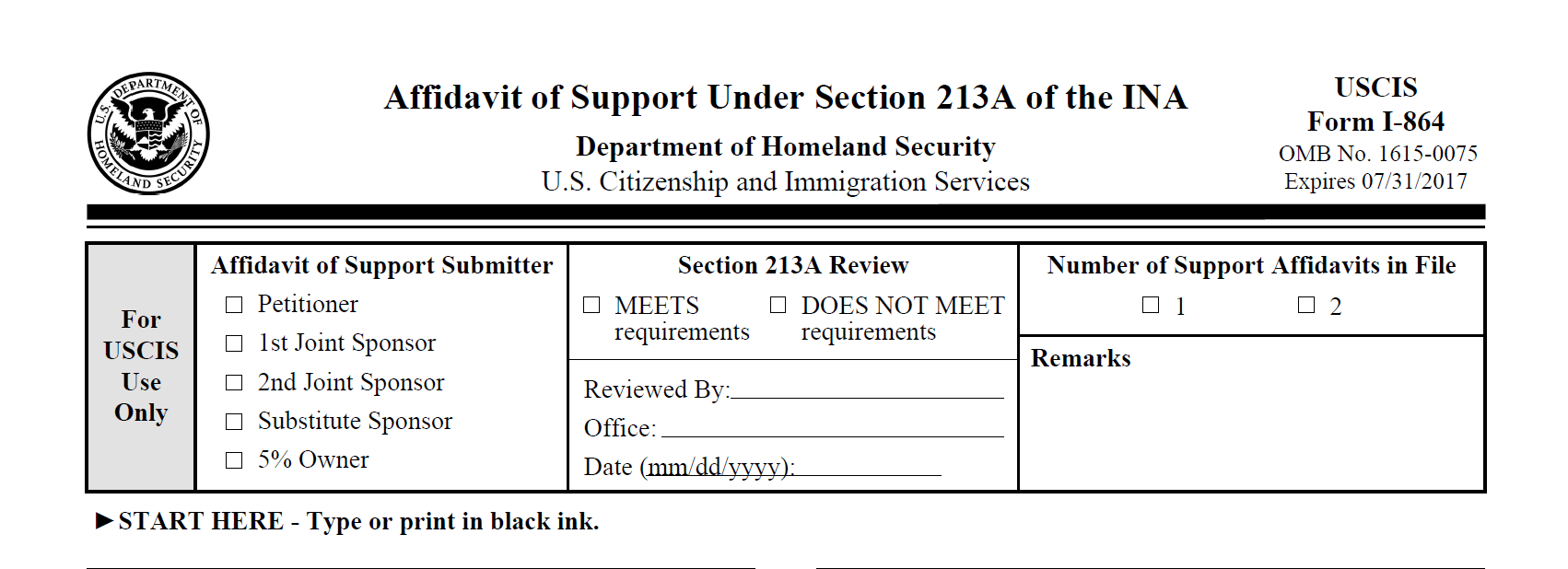 USCIS updates policy on medical exams (Form I-639) - Sound