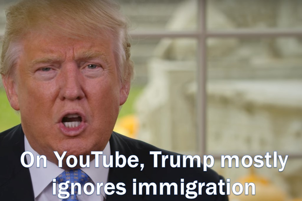 Trump's YouTube Is Good(ish) News For Immigrants