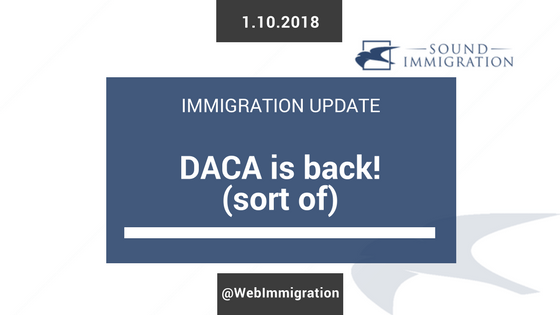 Court Orders USCIS To Accept DACA Renewal Applications!