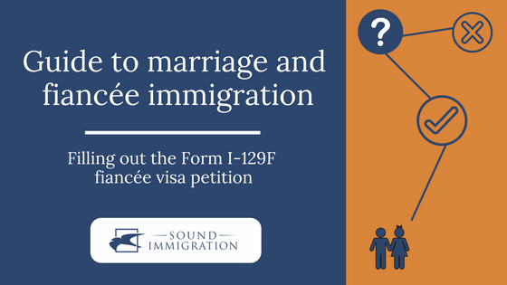 Filling Out The Form I-129F Petition