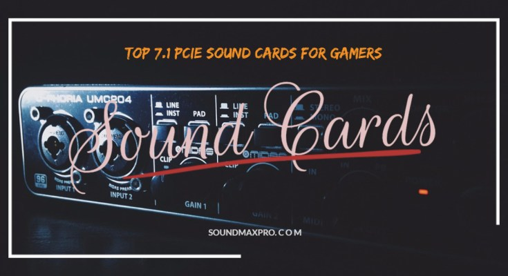 PCI Express 7.1 Sound Cards