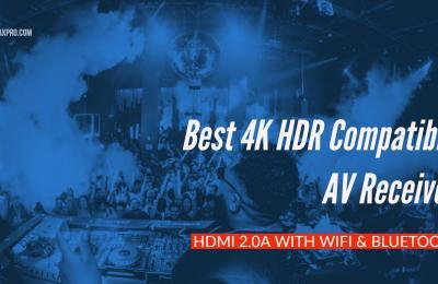 Best Budget 4K HDR compatible AV Receiver