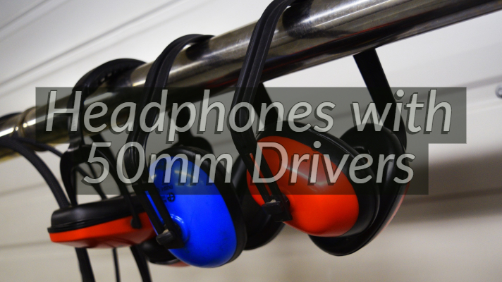 Best Headphones with 50mm Drivers