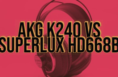 AKG K240 vs Superlux HD668B