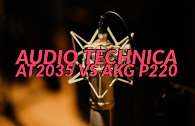 Audio Technica AT2035 vs AKG P220