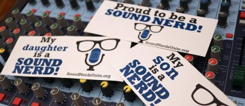 Proud To Be A Sound Nerd Stickers