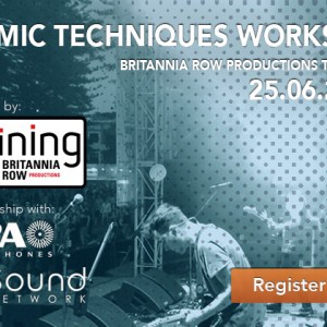 Live Mic Techniques Workshop with Brit Row Training
