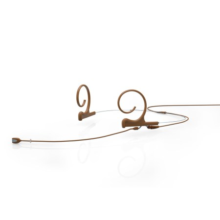 DPA d:fine Headset Microphone Brown