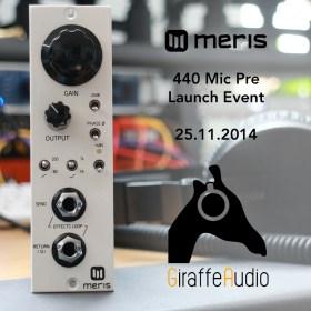 Giraffe Audio Meris Launch