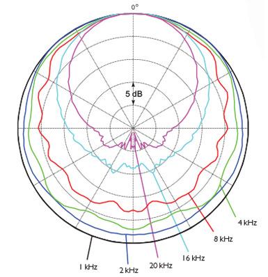 DPA d:facto MMC2006v Polar Pattern