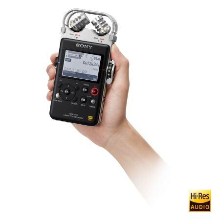 Sony PCM-D100 Portable Recorder Size