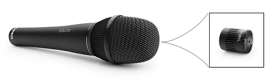 DPA d:facto™ Linear Vocal Capsule, the MMC4018VL