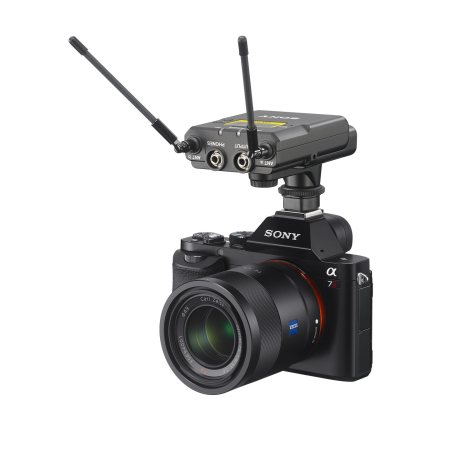 Sony UWX-P03 receiver on DSLR