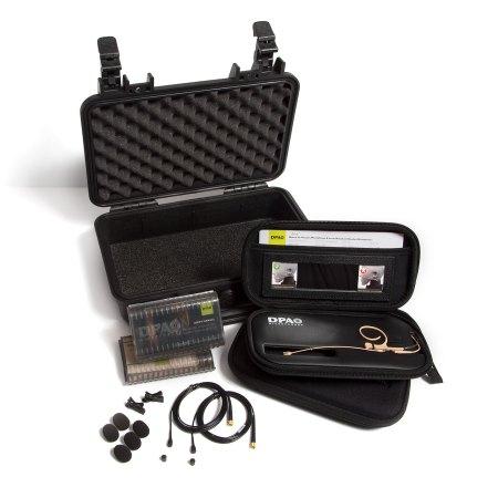 DPA Bodyworn 4-Kit Headset and Lavalier kit