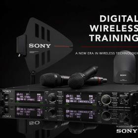 Free Digital Wireless Training with Sony DWX