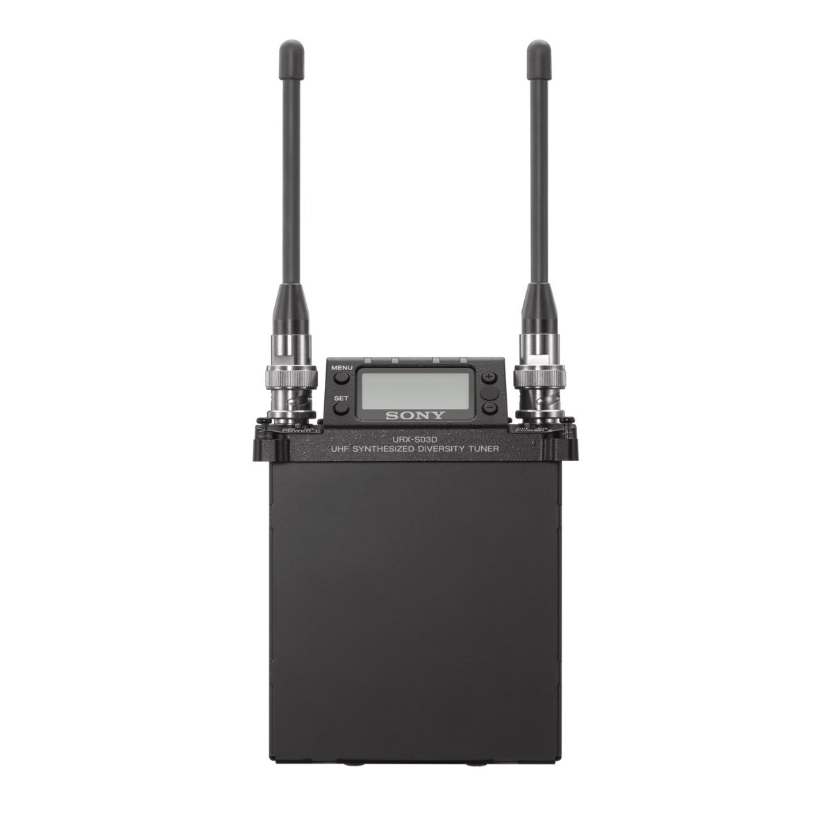 Sony Urx S03d Two Channel Slot In Wireless Receiver Microphone Circuit Dual