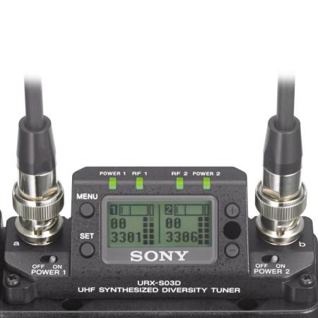 Sony URX-S03D Screen