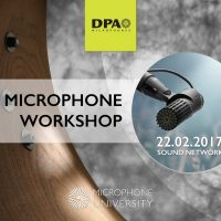 DPA mic University Workshop, Feb 2017
