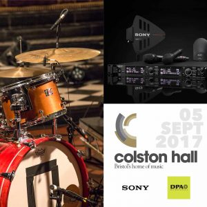 Colston Hall Sony DPA Workshop 2017