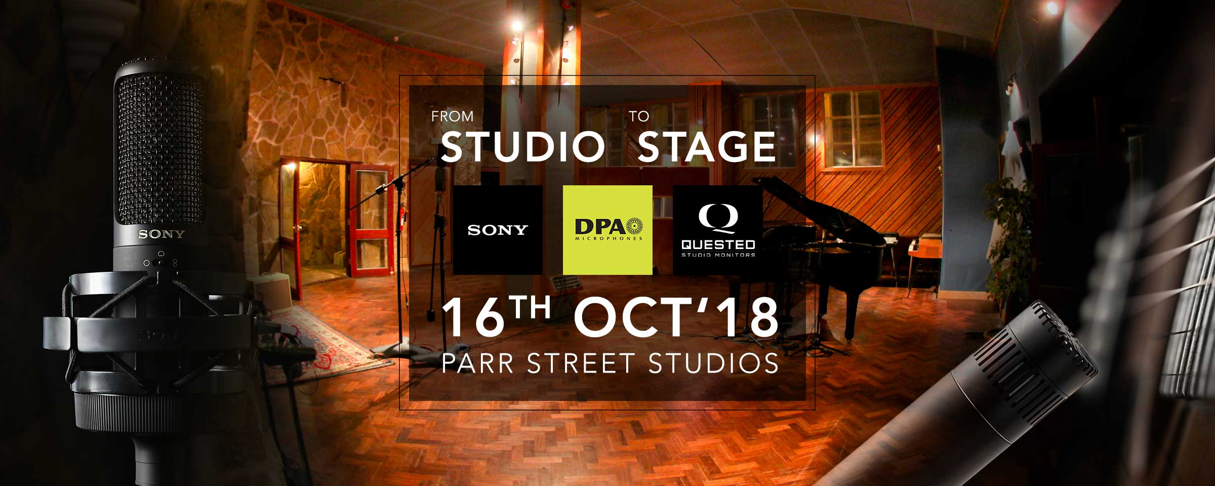 From Studio to Stage at Parr Street Studios