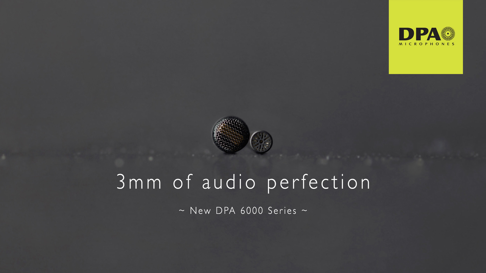 DPA Microphones 6000 Series Launched