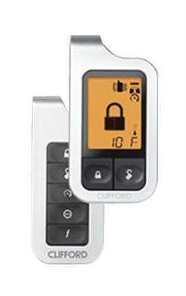 Clifford Matrix 5704x Remote Car Start w Alarm and Keyless 5704X 5704XB | eBay