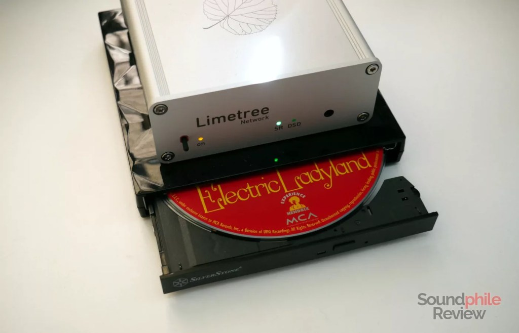 Lindemann Limetree Network also acts as a CD player