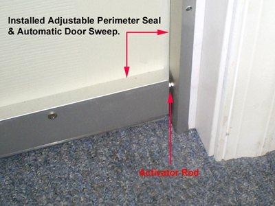 Quiet Door Automatic Door Sweep Soundproof Cow