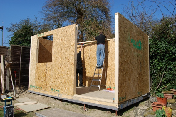 Green Rooms SIPS Kit Self Build Garden Room DIY Garden