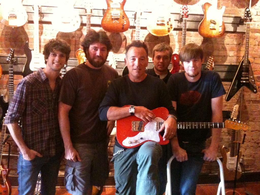 The Boss, Bruce Springsteen, Visits Sound Pure