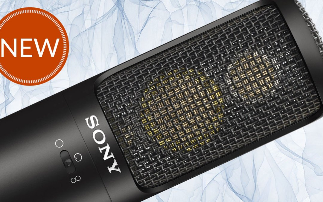 Sony's New C-100 Studio Mic is Now Available