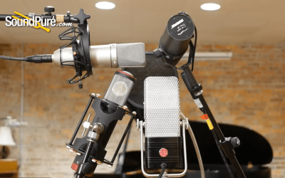 Tour of Types Vocal Microphone Shootout: Shure SM7B vs. AEA R44 CXE vs. Manley Ref C vs. Neumann U87Ai