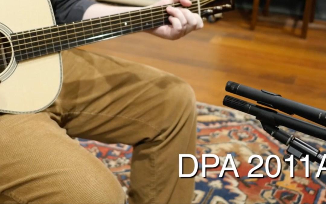 DPA 4011A vs. 2011A SDC Mic Quick 'n' Dirty Shootout