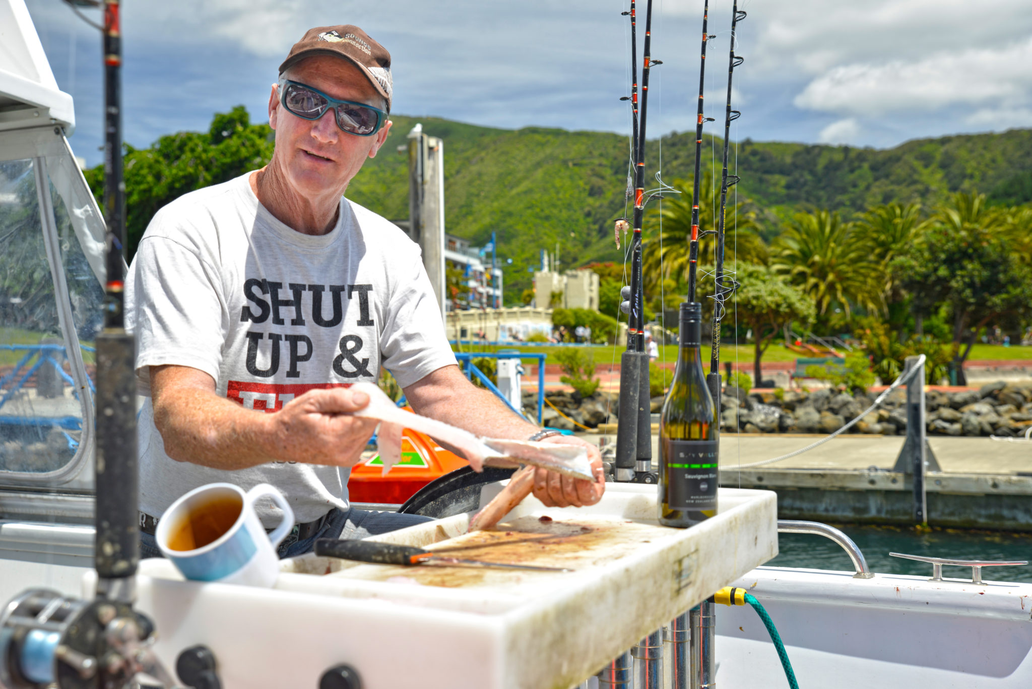 Always a great time to go fishing in marlborough sounds for Best fishing times for today