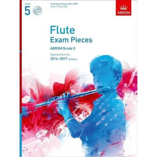 Flute Exam Pieces 2014 - 2017 Grade 5 & Cd