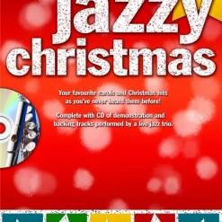 Jazzy Christmas Playalong Flute Bk/Cd