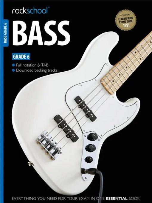 Rockschool Bass Grade 6 2012 - 2018