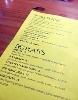 FABARNAK menu