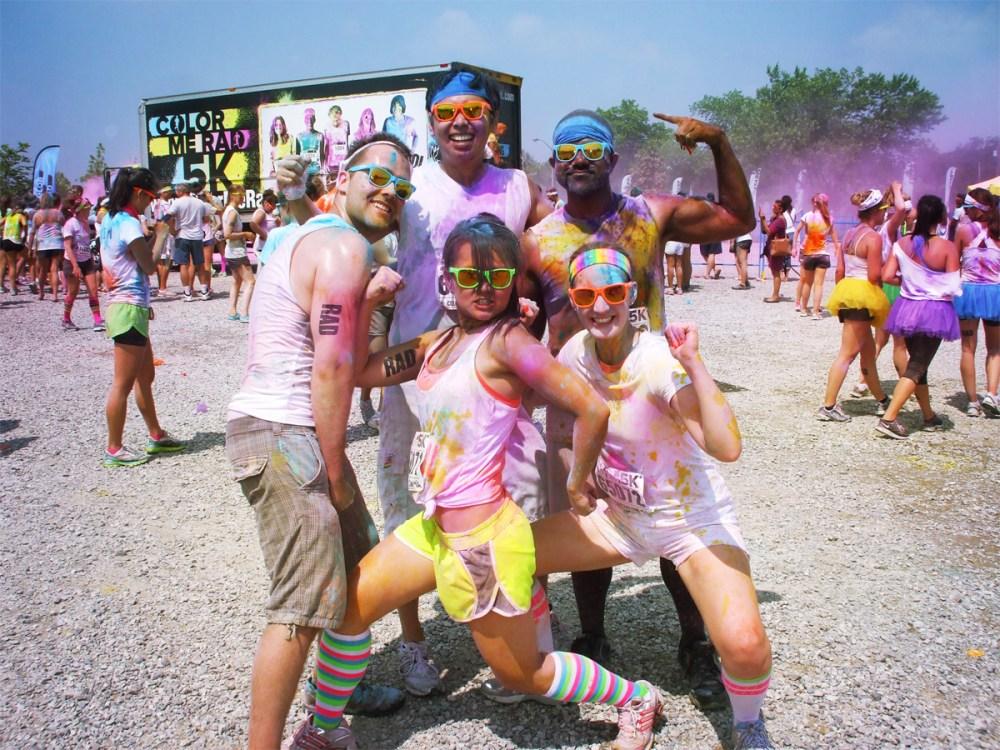 Colour me RAD group Toronto