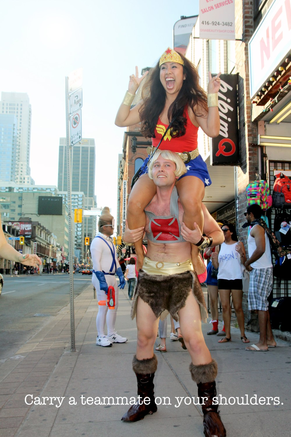 he man and wonder woman