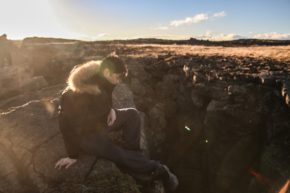 Iceland scene