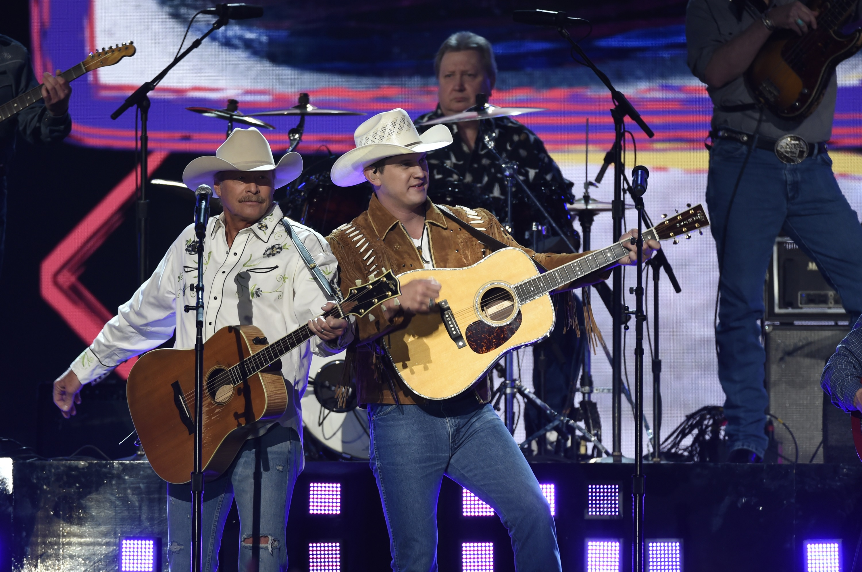 Image result for acm awards 2018 alan jackson jon pardi