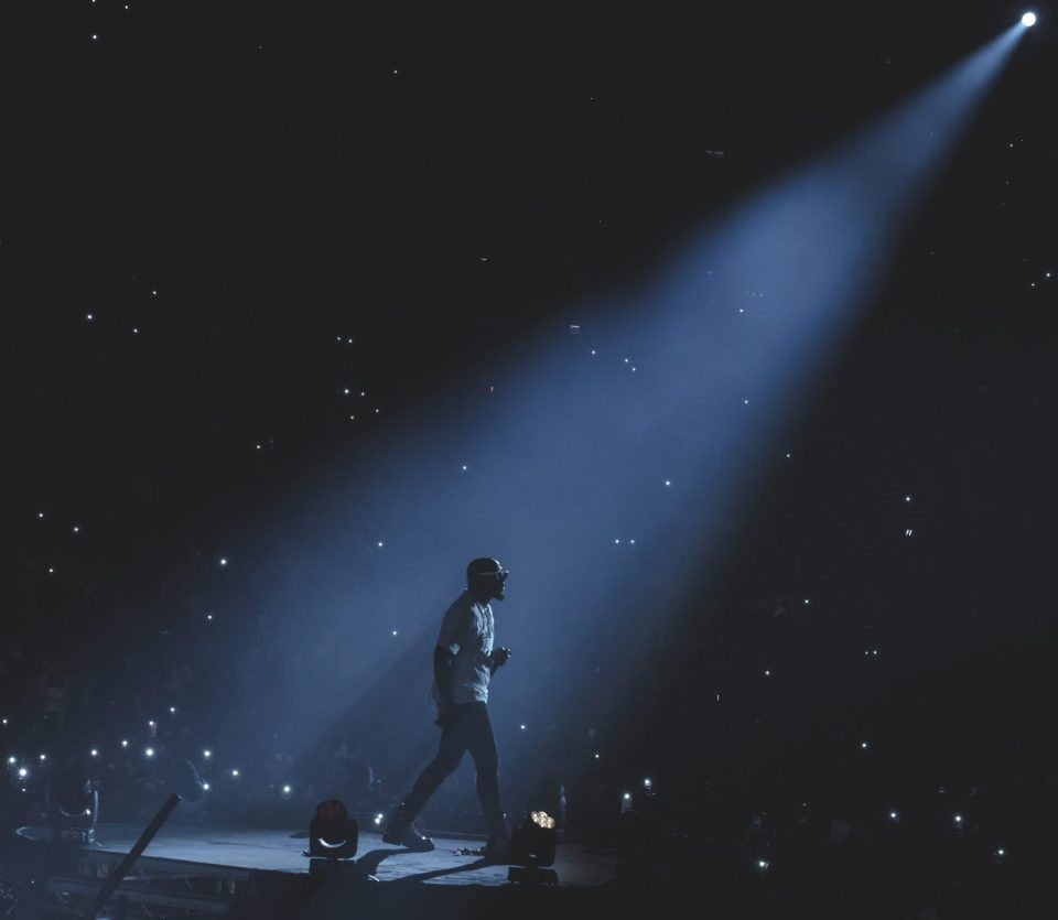 Davido performs live on stage at The O2 Arena.