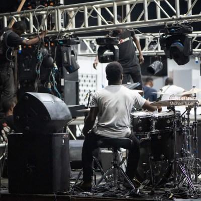 BTS of The Human Radio Concert