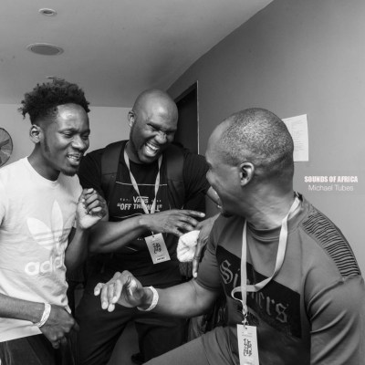 DJ Edu, Presenter Shope Olajide & Mr Eazi