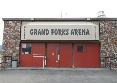 Grand Forks Arena  June 2004 & June 2014