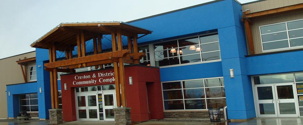 Creston & District Community Complex – Creston Room   September 2016