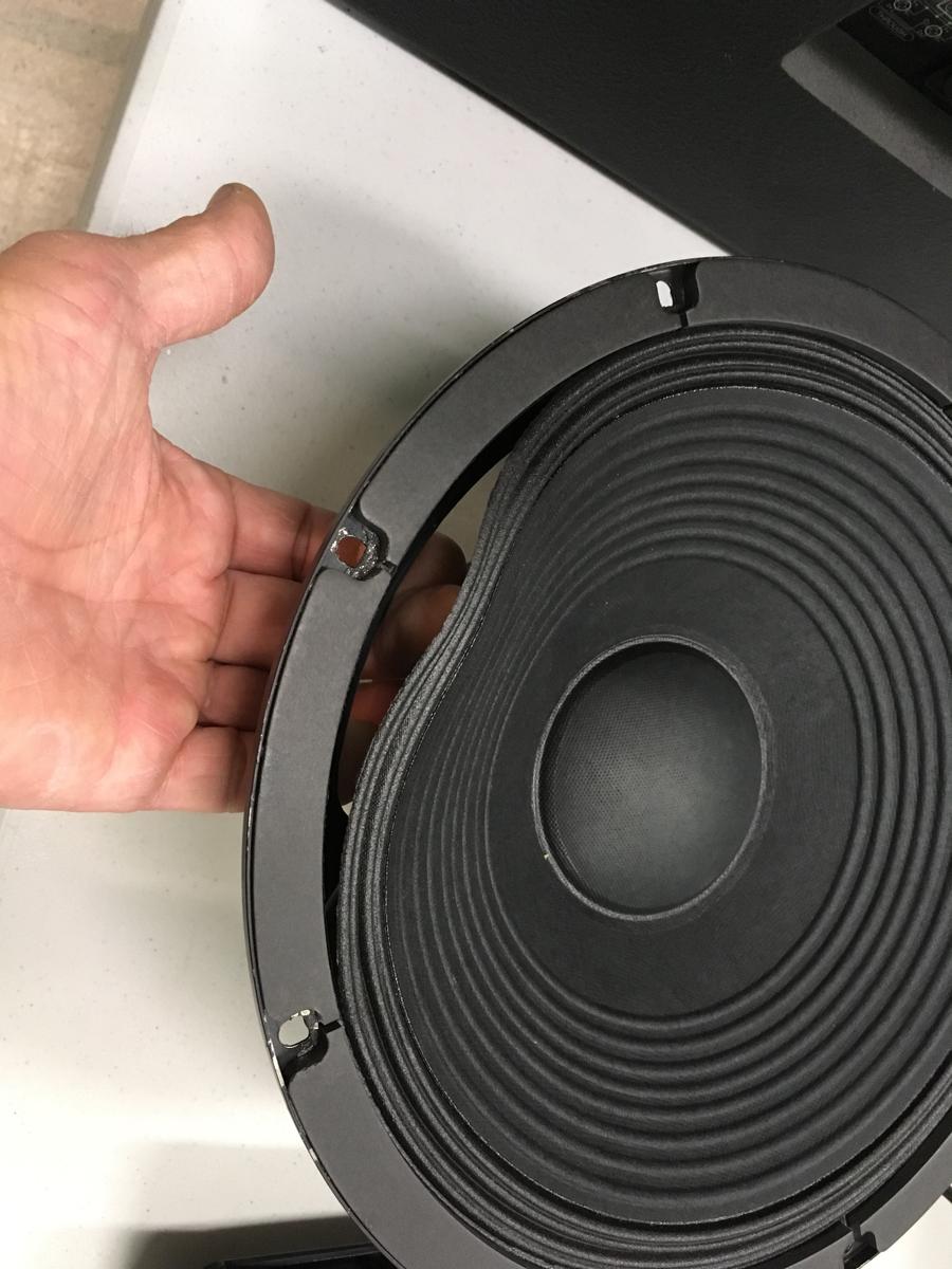 CR blown speaker