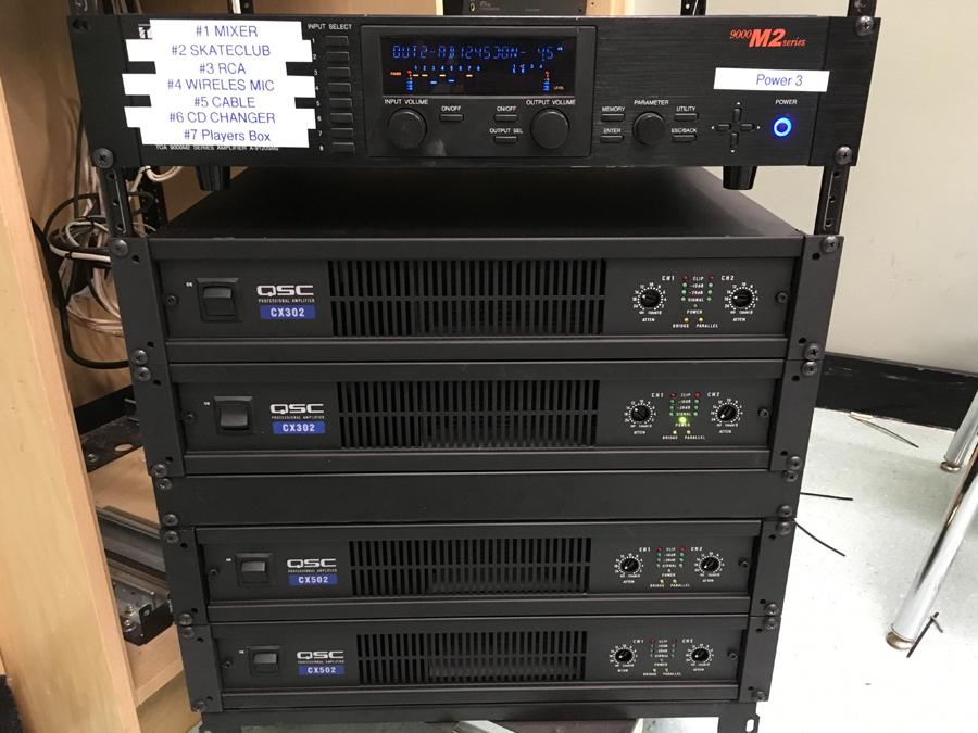 CR rack new